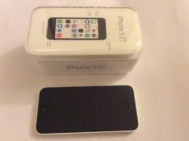 iPhone 5C 16GB White in excellent condition