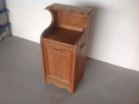 Edwardian pine storage unit