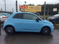Fiat 500 875cc petrol 40000 fsh long mot fullyserviced £0 tax cheap to run must see