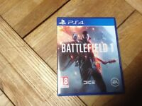 Battlefeild PS4, played once, like new!