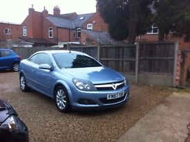 VAUXHALL ASTRA 2007 Manual 96039 Petrol Blue 1.6I Sport Twin Top 2dr, HARD TOP CONVERTABLE
