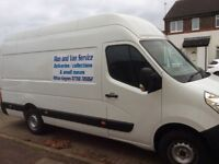Man n van, with long wheel base , high top van milton keynes area