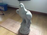 Concrete garden eagle ornament