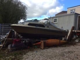 Shetland boat , less engine