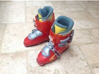 Head make ,Red ski boots