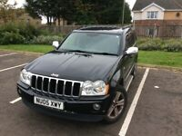 Jeep, GRAND CHEROKEE, Estate, 2005, Other, 2987 (cc), 5 doors, low tax 305