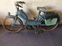 Vintage old Peugeot moped 1960