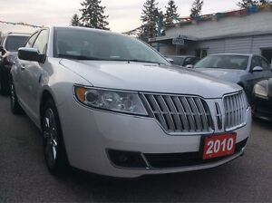 2010 Lincoln MKZ AWD w/Leather Sunroof Bluetooth Alloys EXTRA CL