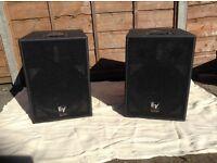 PA Speakers. Ev Sba 750 powerd subwoofers (pair)