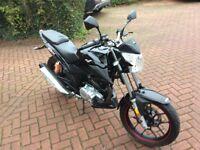 Motorcycle Lexmoto ZSX 125
