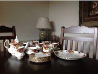 Royal Albert Old Country Rose Tea set and Dinner set