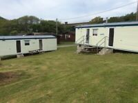 6 Berth Caravan To Let Trenance Holiday park Newquay Cornwall.28th August Avaliable school holidays