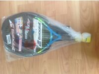 Babolat 21 Junior tennis racket with cover brand new