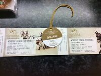 Olympia dressage tickets with gallery access