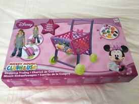 BRAND NEW Disney Mickey Mouse clubhouse shopping trolley