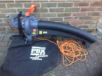 PBX Power Base Excel Leaf blower and vacuum