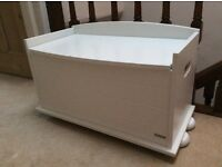 John Lewis baby/child nursery blanket box/ottoman