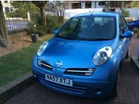 Excellent Condition Nissan Sprita Blue Colour kept in immaculate condition 57 Reg