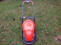 Flymo lawn mower and Bosch trimmer
