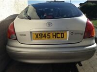 Used but very reliable Toyota Corolla