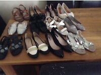Selection of ladies shoes sizes 5/6