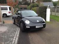 VW BEETLE CABRIOLET 55 PLATES 2005 - VERY NICE - FSH & MOT until Sept 2018