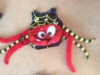 Toddler Halloween spider costume