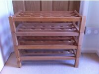 Habitat wine rack - great condition