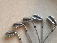 Ping G golf irons 6 to PW.