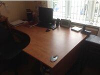 Desk draws & chair