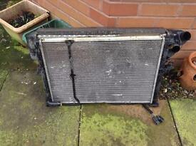 Rover 75 1.8 turbo radiator & fan