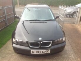 BMW 3 Series 2.0 318i SE 4dr saloon