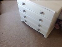 Chest of drawers 2 sets sold as one lot