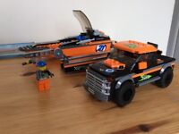 LEGO CITY 60085 4x4 WITH POWER BOAT