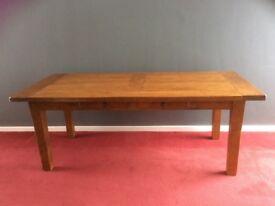 Reclaimed Oak table.