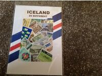 Postage stamps from Iceland