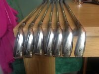 Taylormade M4 Irons, 4-PW, S300 XP100 shafts....excellent condition