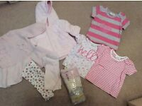 Next first size baby girl bundle