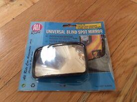 Brand New Car Reversing Blind Spot and Overtaking Mirrors (Learner Driver)