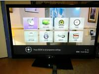 LG 50 inch HDReady RazorFrame TV with USB and Freeview