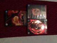 Collection of DVDs - Hunger Games