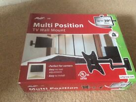 Multi position TV wall mount new in box