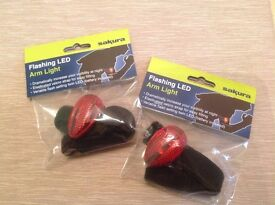 Be Visible & Safe with these Arm lights - lot of 6 at 30% rrp