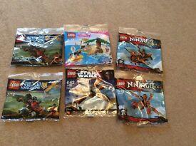 6 packs of lego