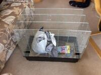 Budgie cage plus extras,,