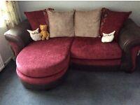 Almost brand new corner sofa