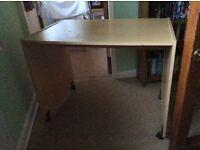 Beech effect desk.
