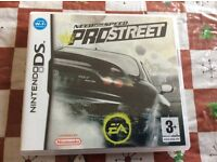 Need for speed - pro street . Nintendo ds