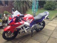 Cbr600fw motorcycle