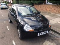 Ford KA 1.3 Collection 2005 Black . Only 56,000 miles